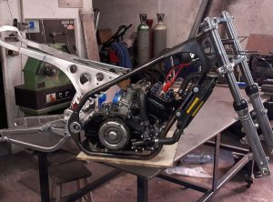 Chassis bras boucles arrières TZ 350
