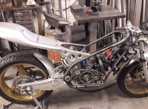 CHASSIS BRAS TZ